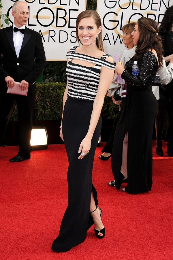 allison-williams-golden-globe-awards-2014