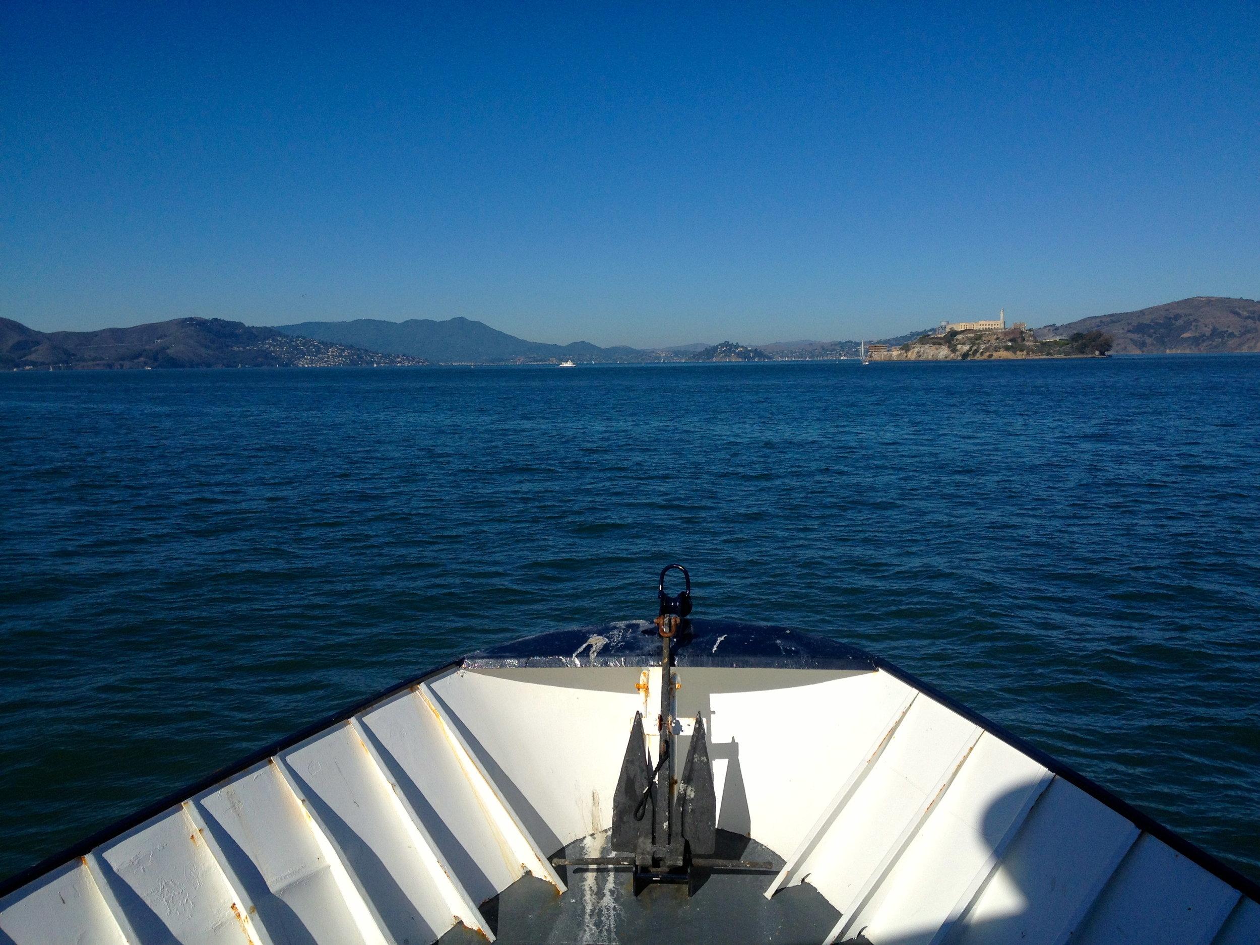Headed to Tiburon!
