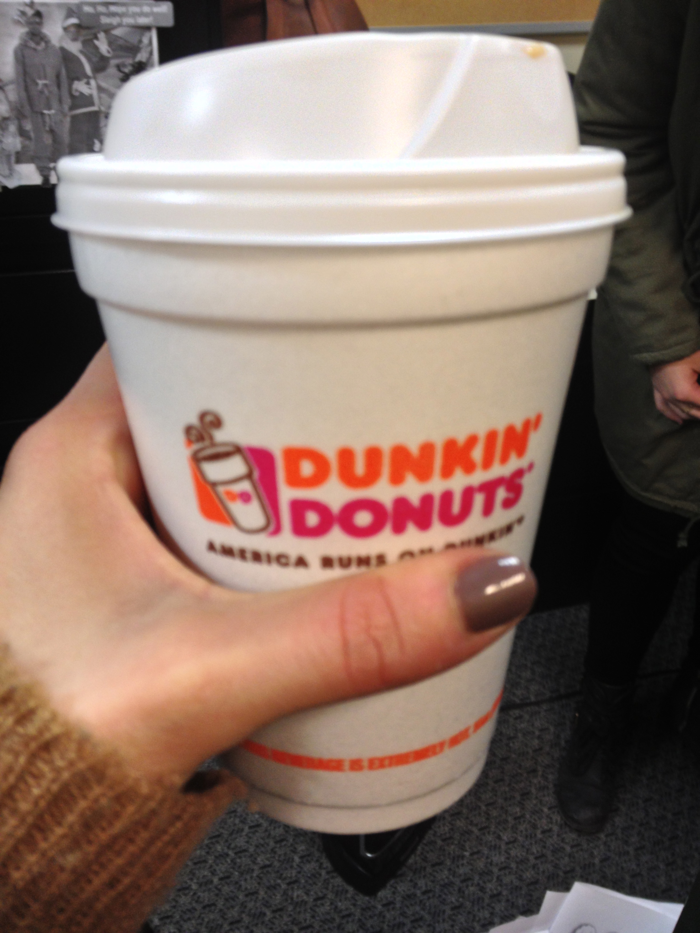 One of the best things about Chicago -- the Dunkin Donuts.