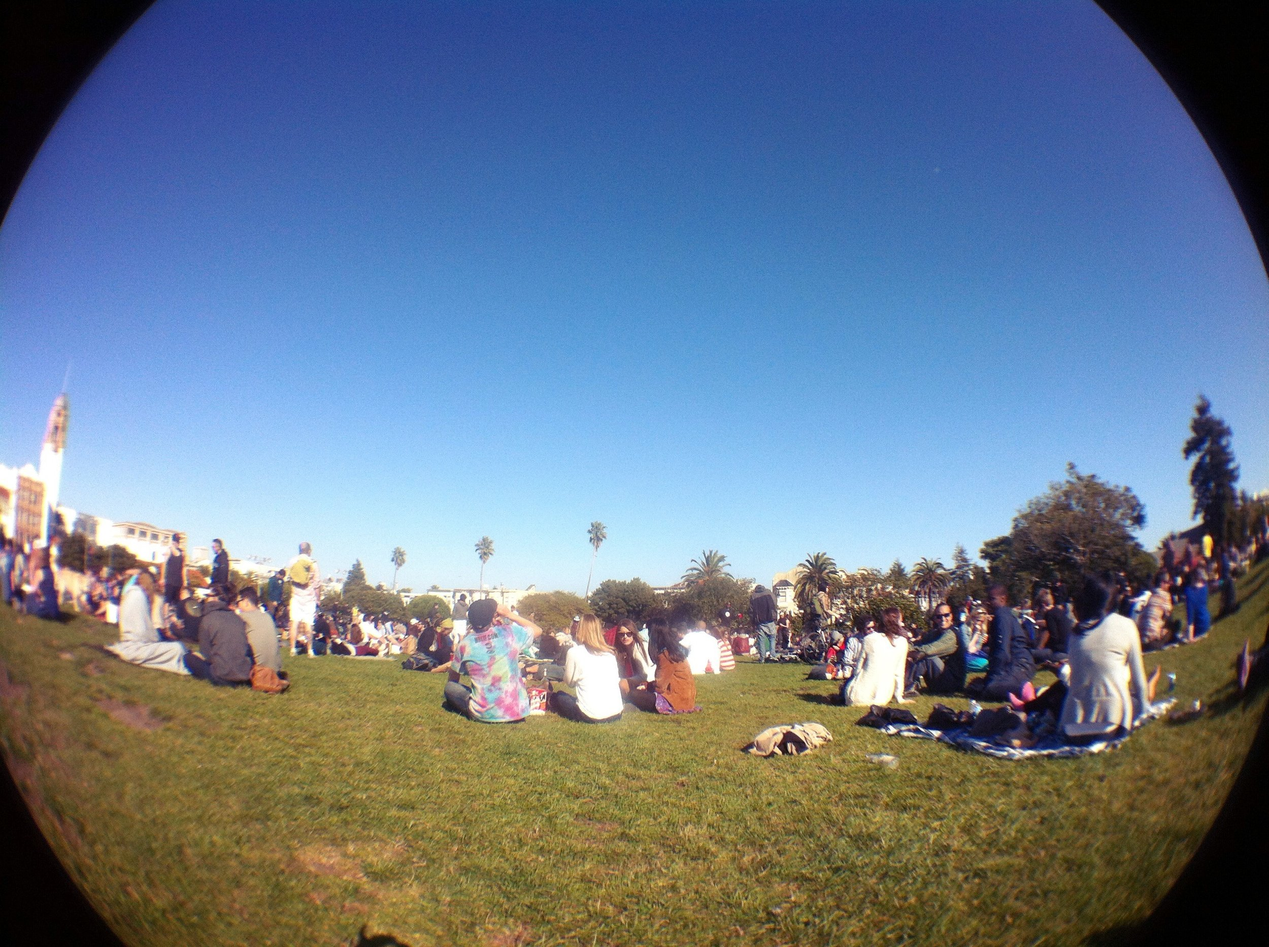Dolores Park on a Sunday