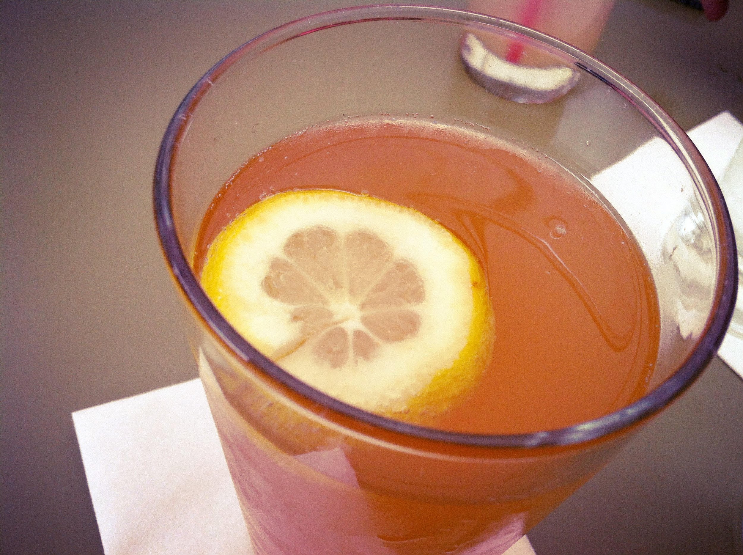 A mid-day pick me up: The Maverick (lemonade & beer!) at Hotel San Jose