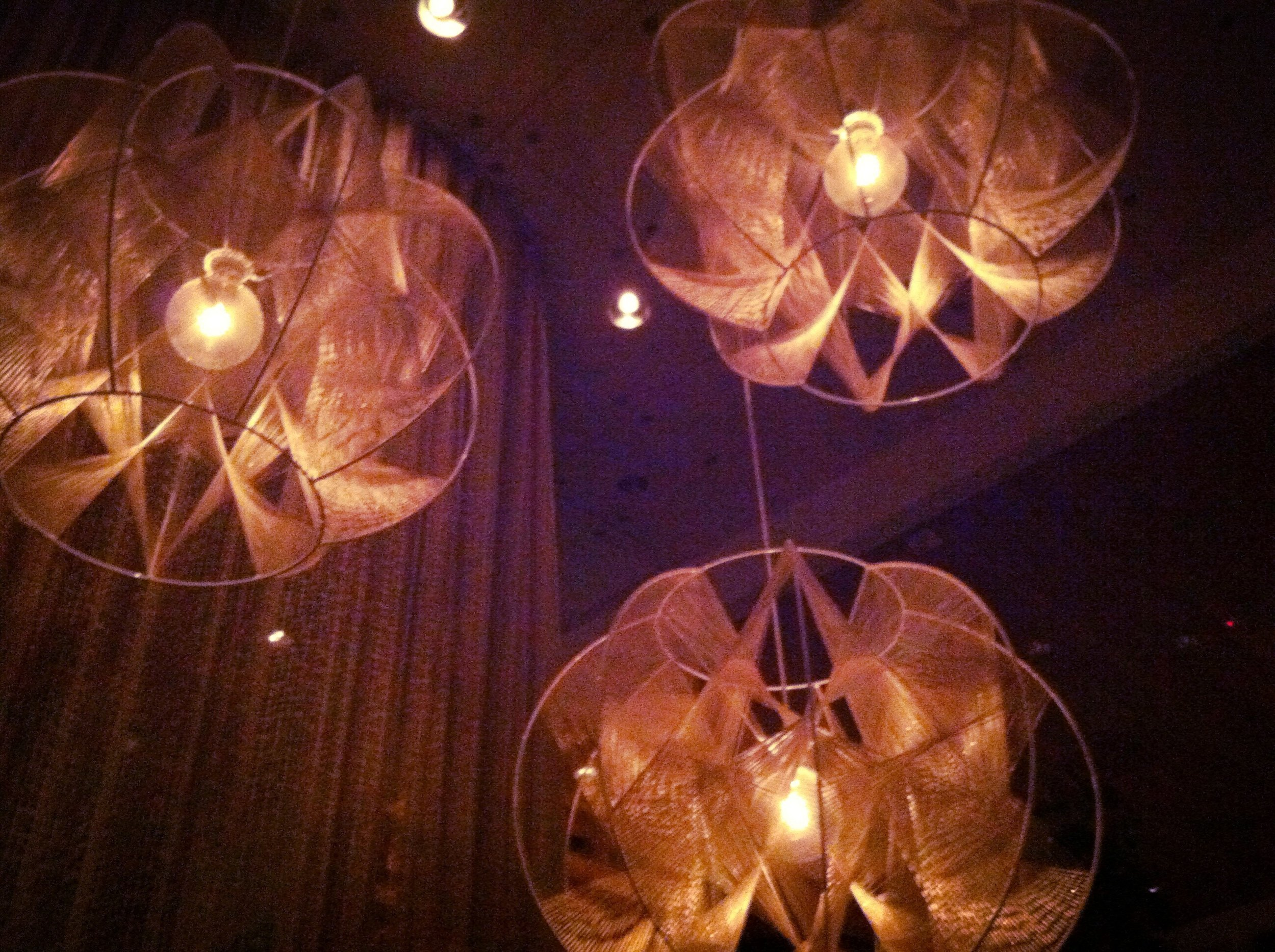 Loving the light fixtures at La Condesa