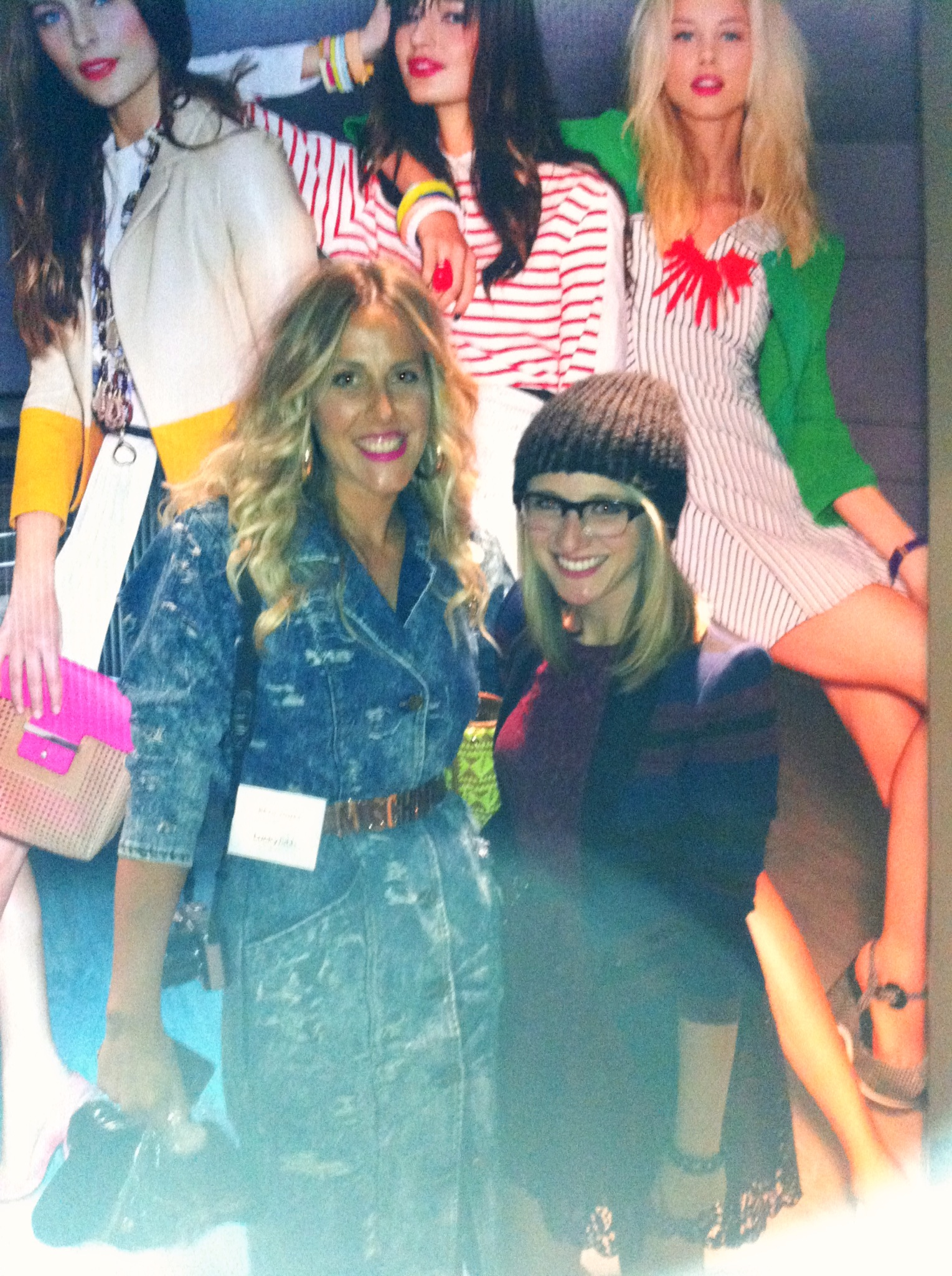 Scored a photo with one of my favorite bloggers, Beth Jones of B.Jones Style!