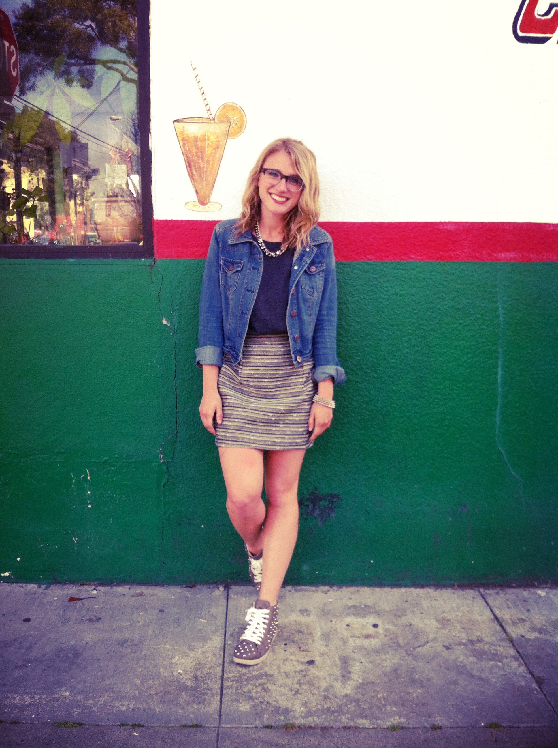 Jacket: Target   Shirt: ON   Skirt: Target   Shoes: Target