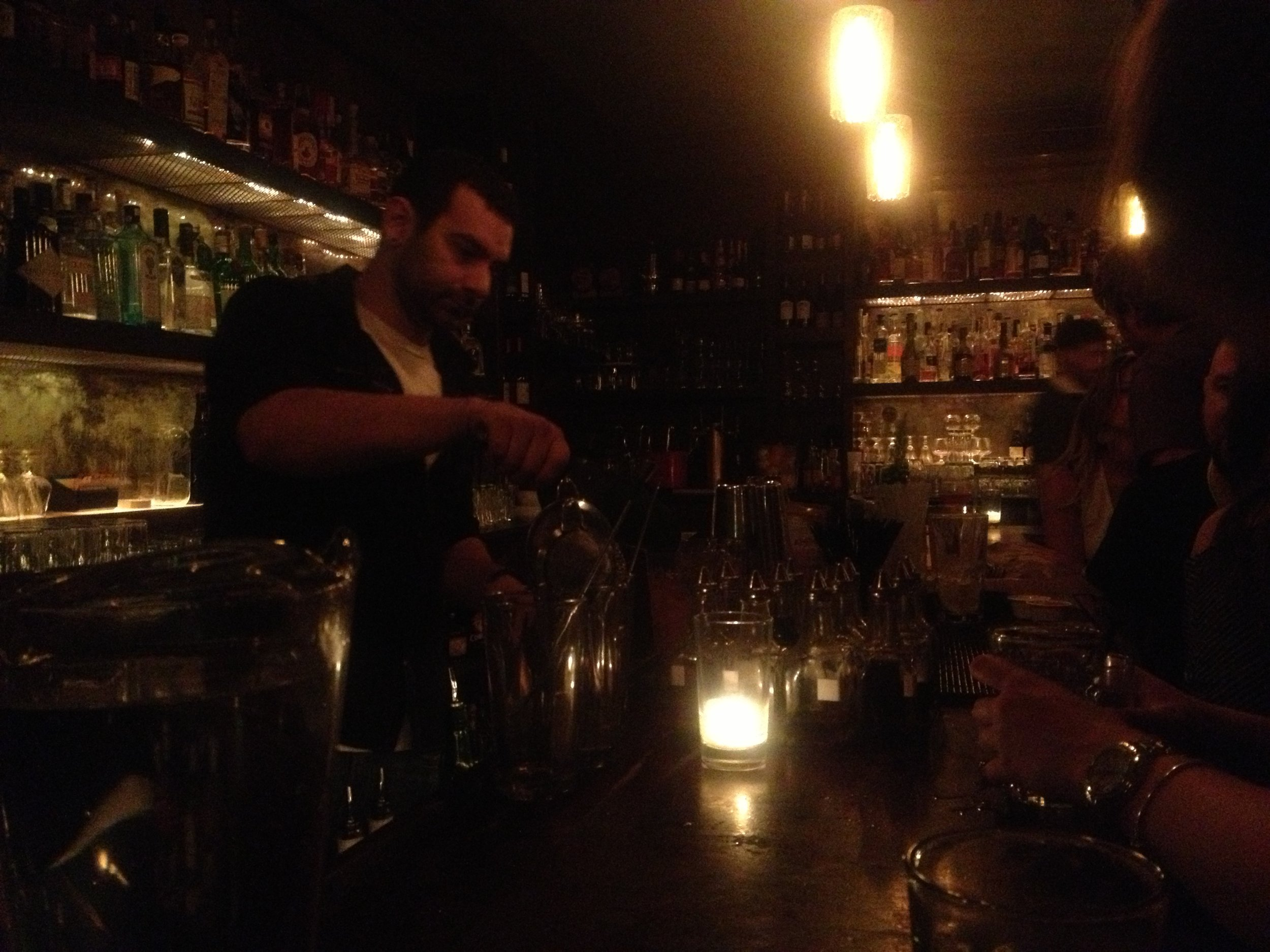 Some of the best drinks in the city -- 15 Romolo