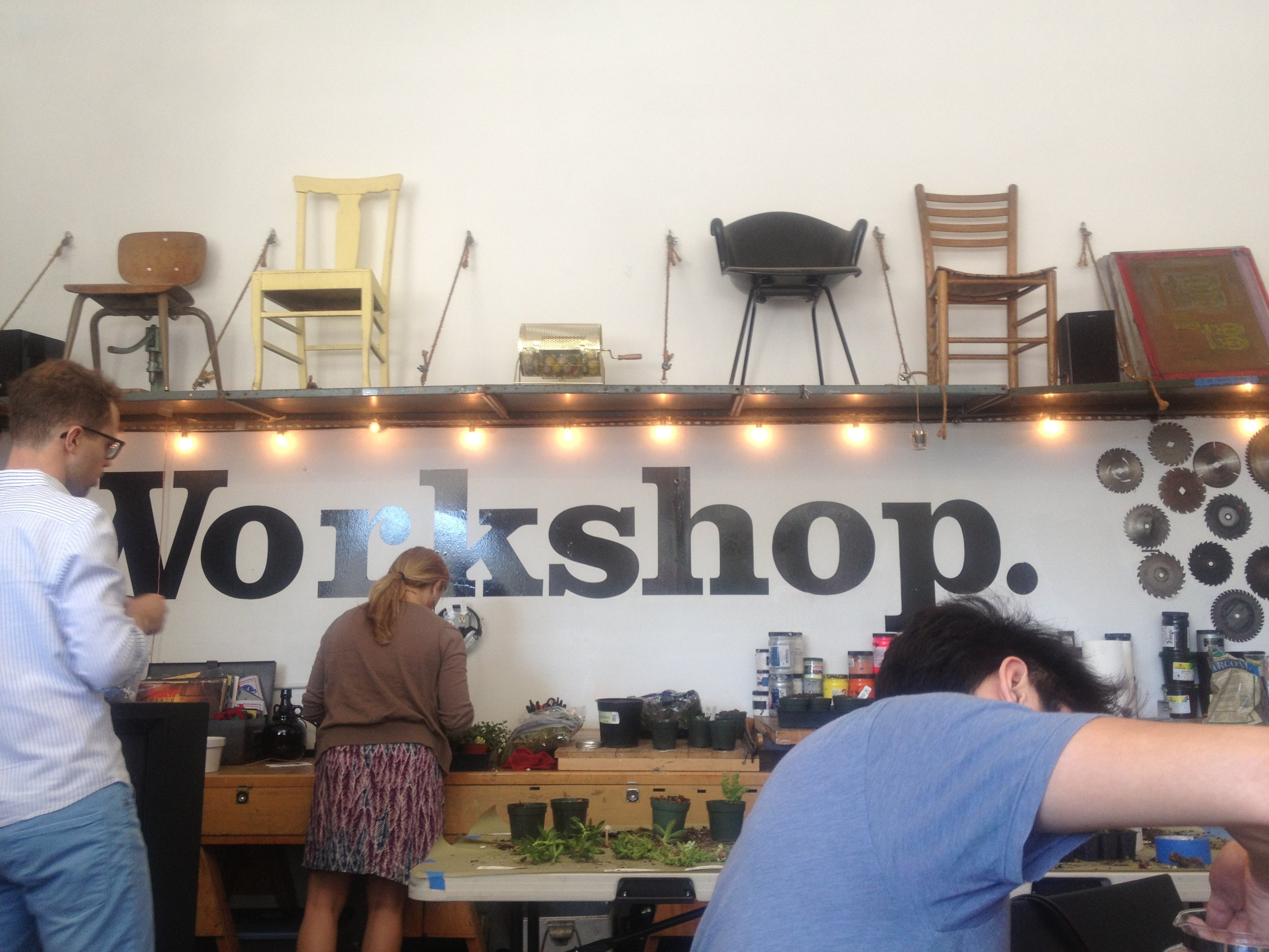 A hidden gem of San Francisco. Workshop offers amazing DIY classes. A San Francisco must-do!