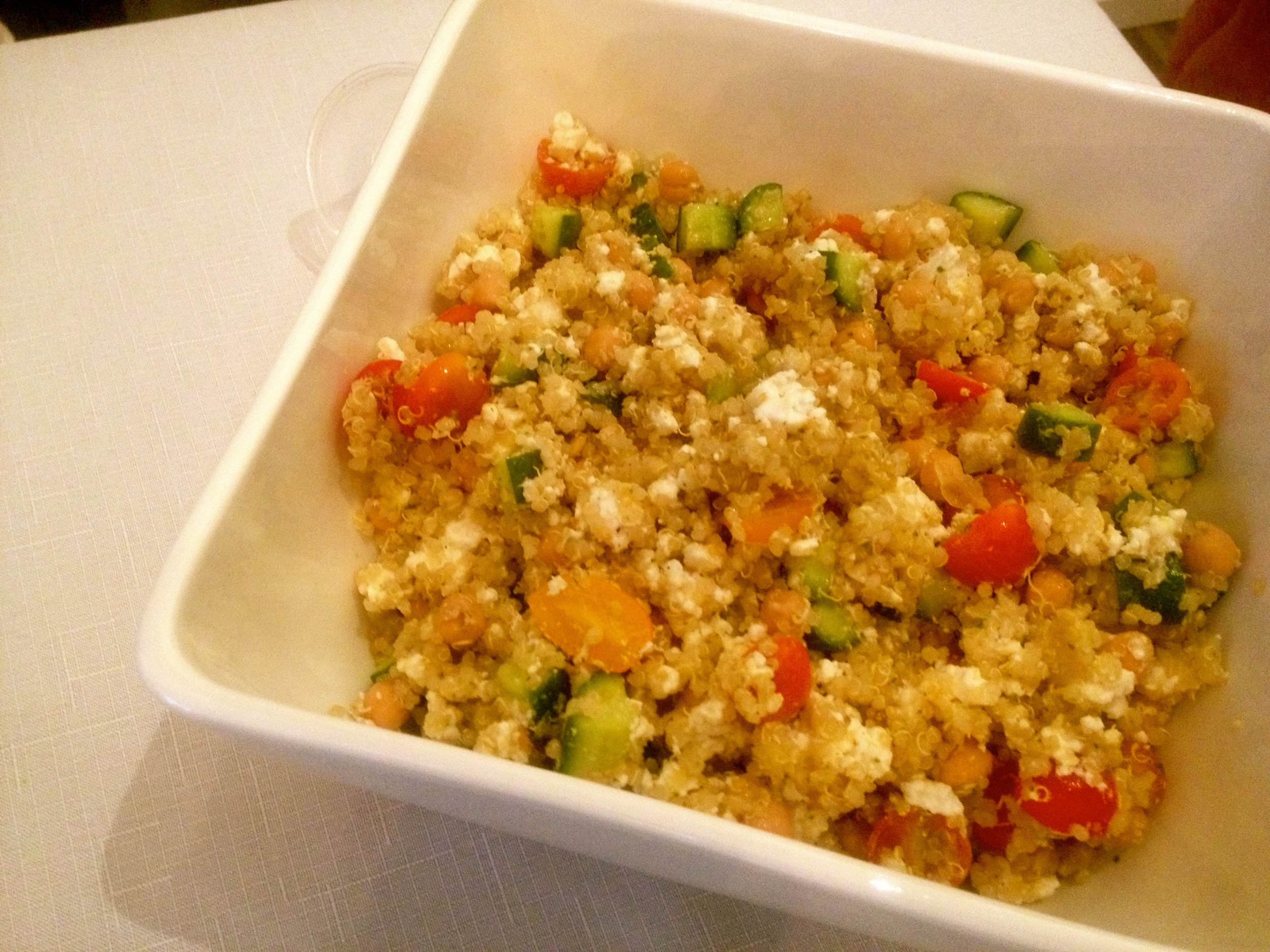 Attended an event last week showcasing AMAZING quinoa from Claudine of Stiletto & Spice. Recipes here!