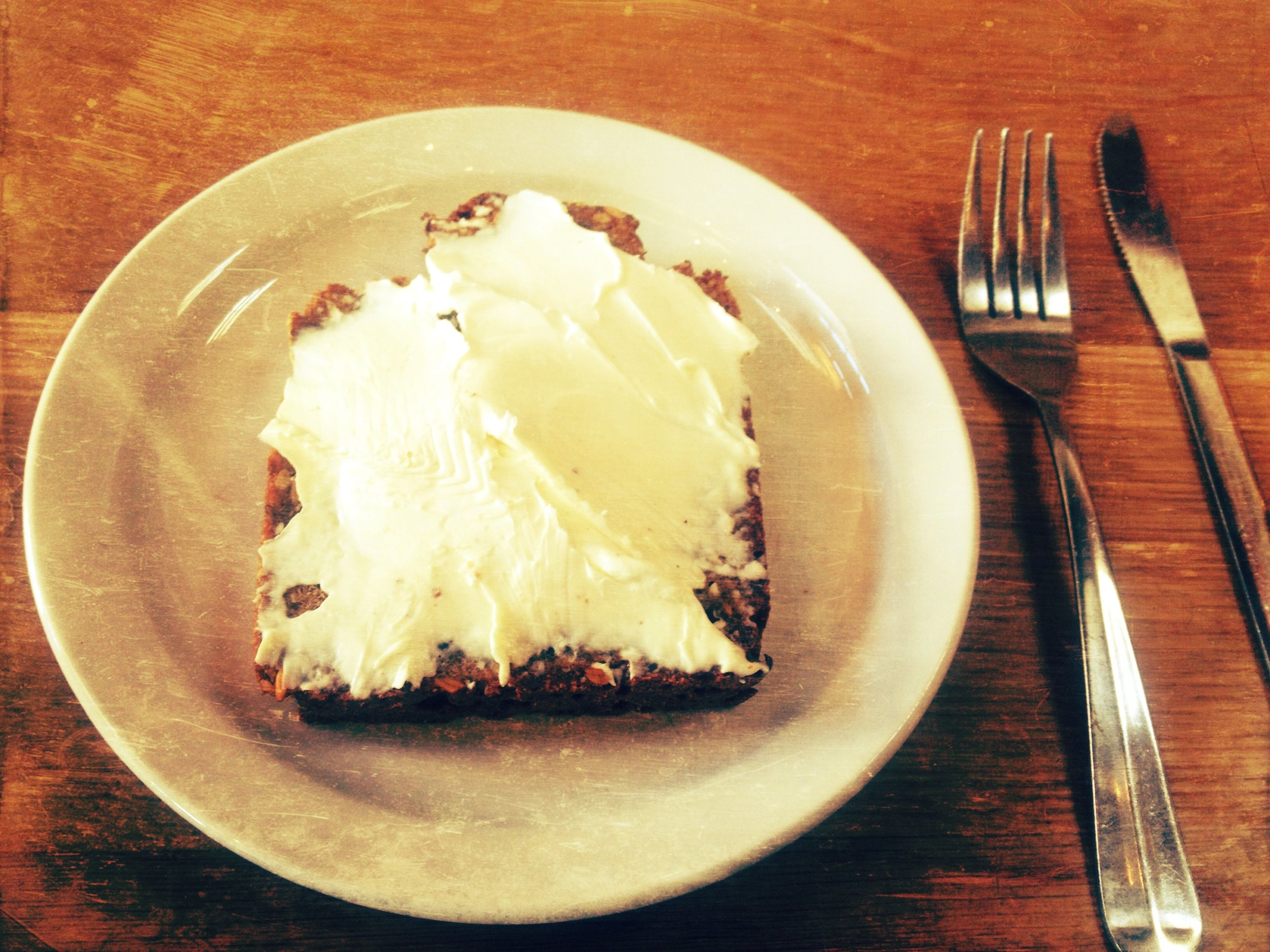 Rye toast & cream cheese at The Mill. Hail yeah.