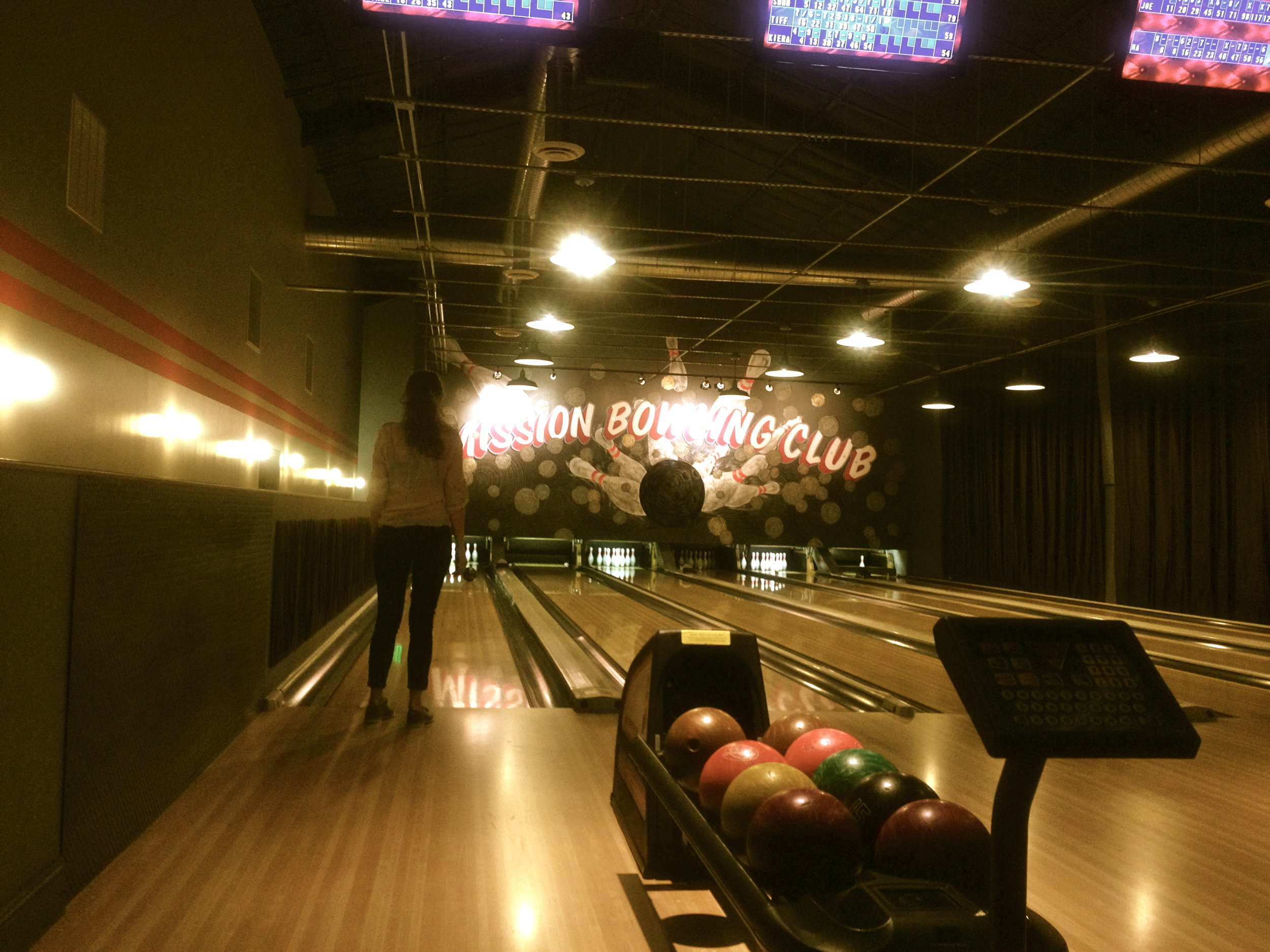Striking out at Mission Bowling!