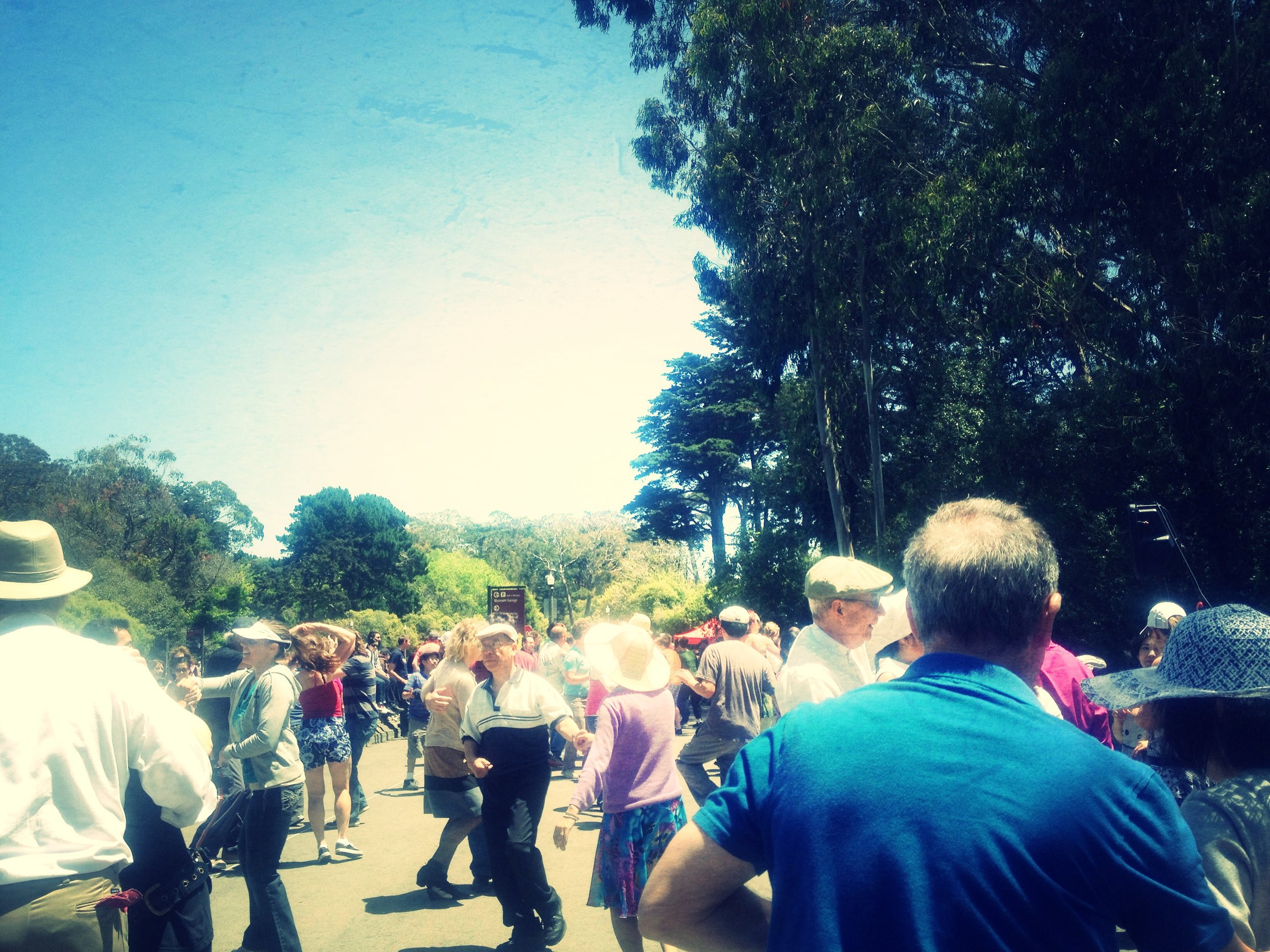 Swing Dancing Class at Golden Gate Park!