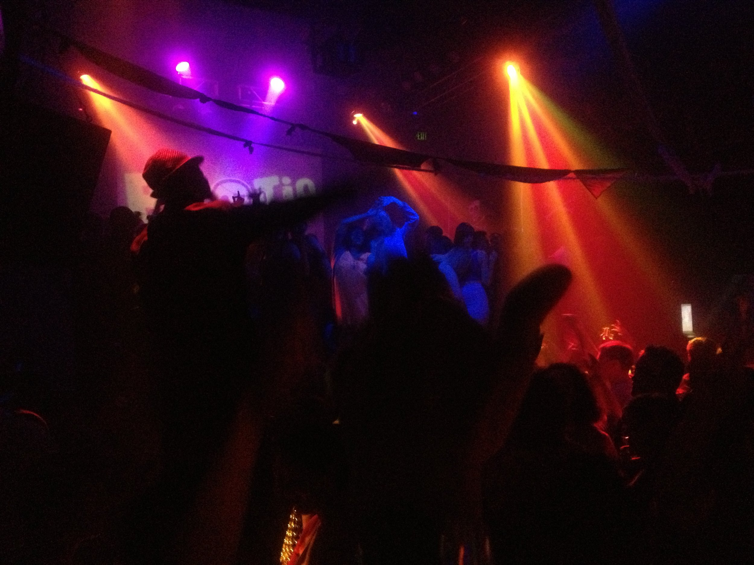 A little snapshot of Bootie SF. I won't lie, I may or may not have danced on the podium.