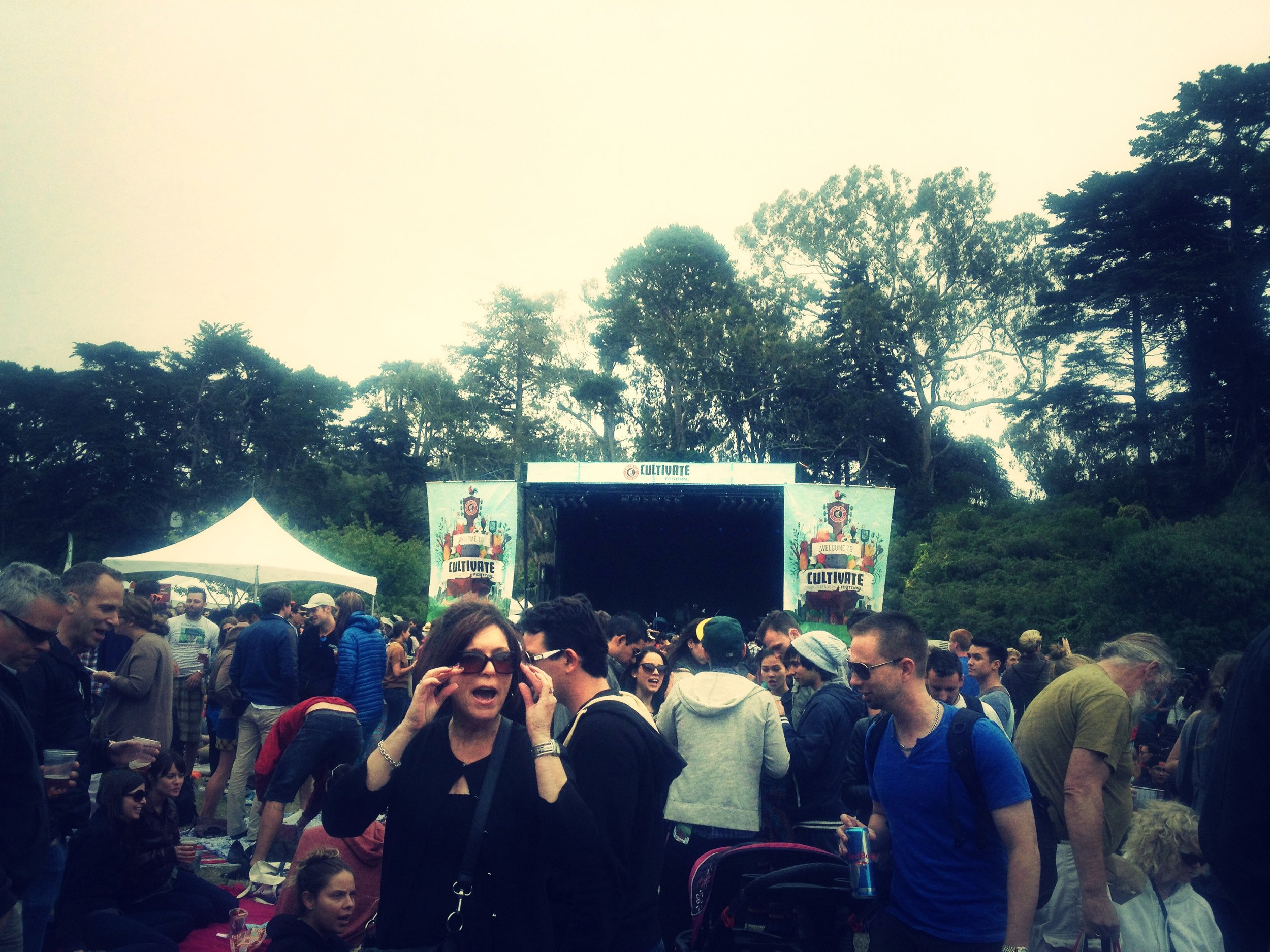 Chipotle's Cultivate Festival in Golden Gate Park this weekend. TACOS ON TACOS. And of course, a few solid bands too.