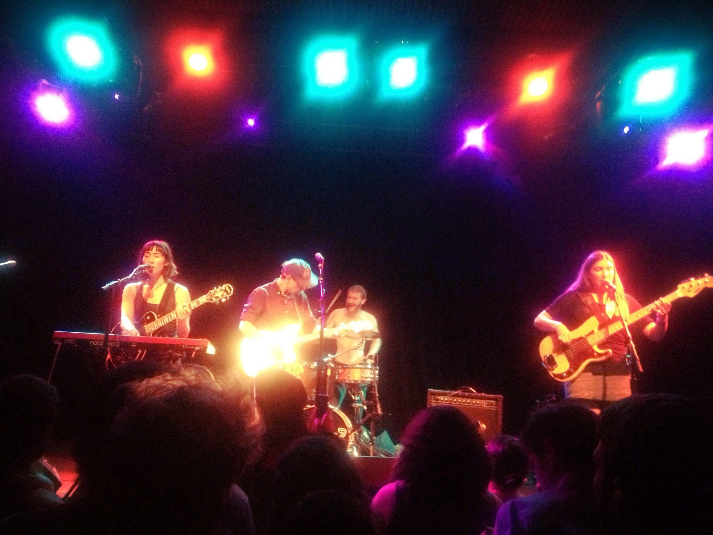Trails and Ways playing a killer set at The Independent!
