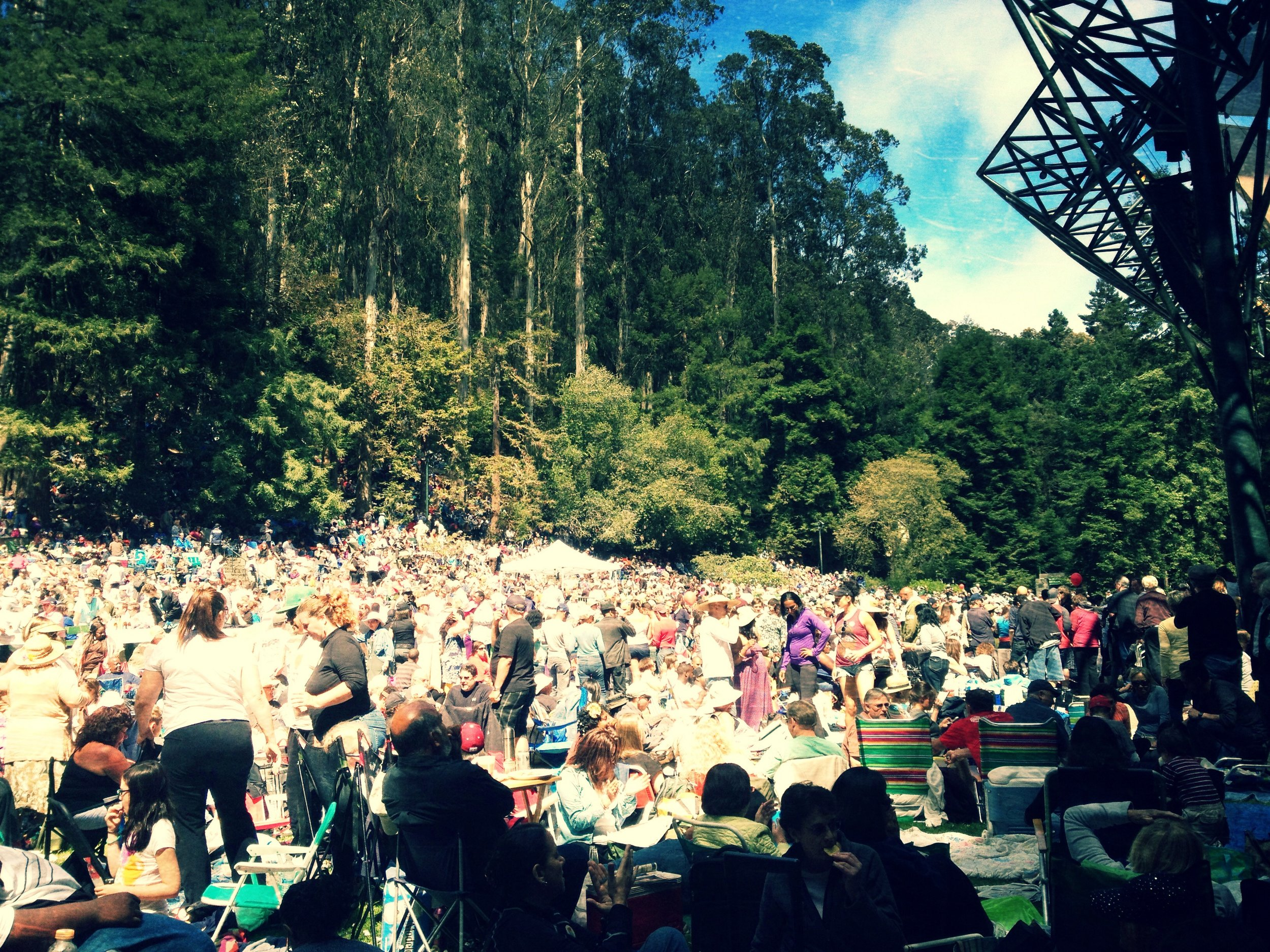 Stern Grove Opening Day!