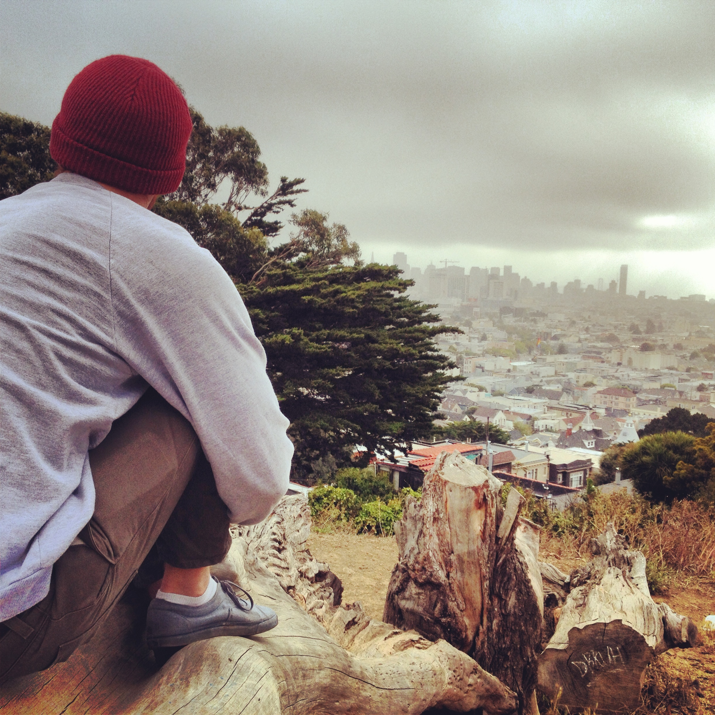 Friday morning hike to Kite Hill with Scotty.