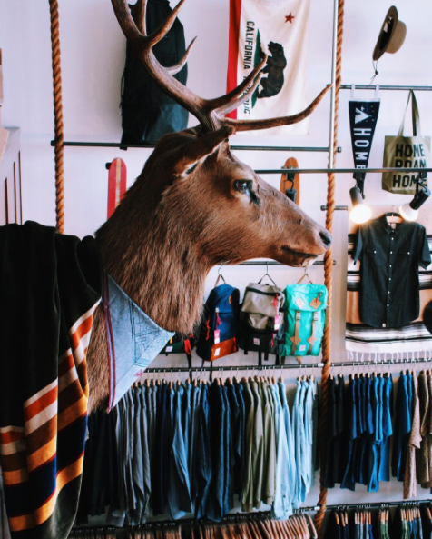 This little hotspot is tucked away on the border of North Beach and the FiDi. Immediately upon walking in, you're struck with some epic and very cool finds. From beachy threads to motorcycle helmets, everything about the store is cooly curated – in a good way.