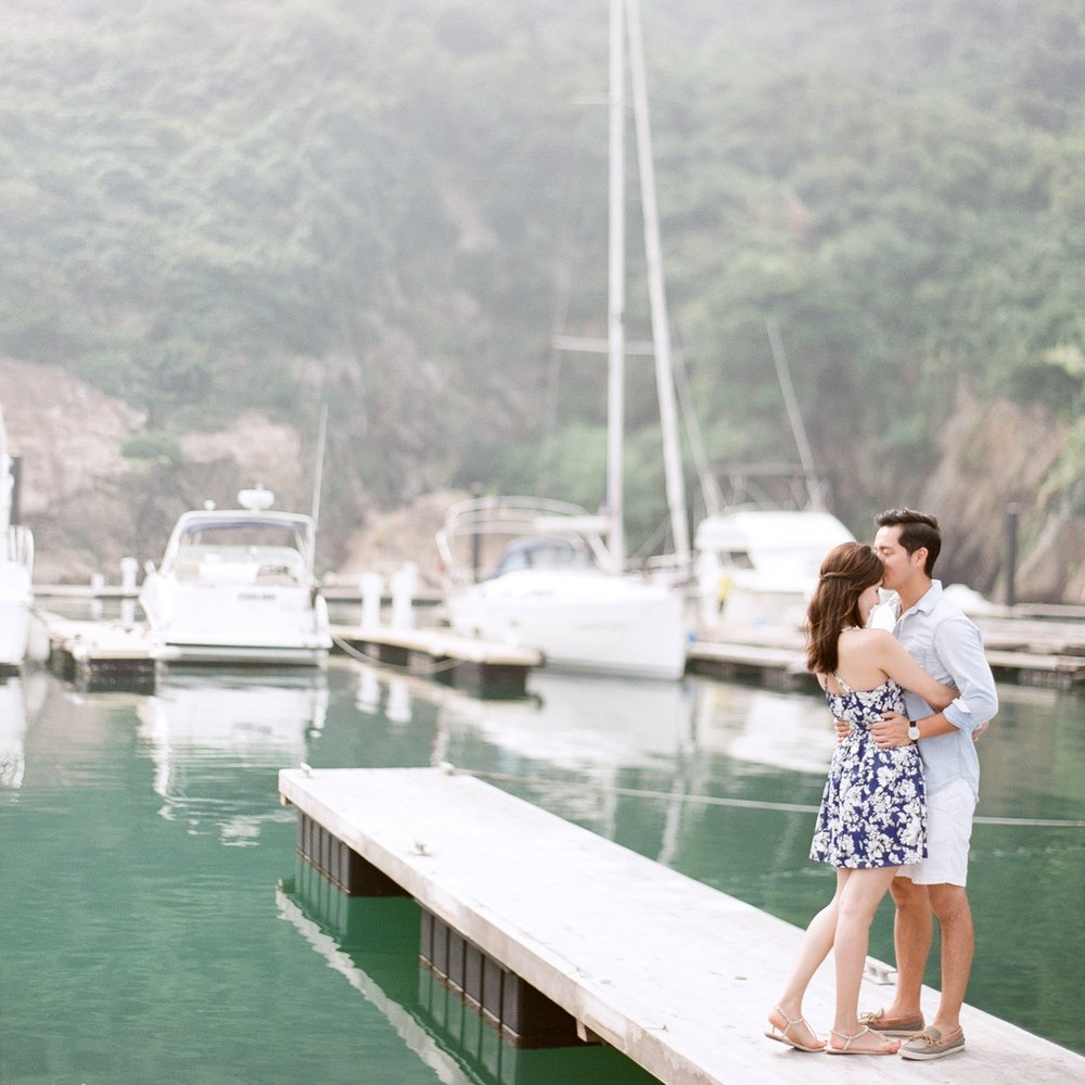 JOAN + ADRIAN  HONG KONG ENGAGEMENT Photography by KC Chan Professional Photography