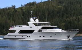 LENGTH:   107 ft.   TYPE:   Power   CLEARING HOUSE:   RJC Yachts Sales & Charter  WEB SITE :   www.rjcyachts.com