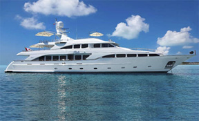 LENGTH: 115 ft. TYPE: Power CLEARING HOUSE: Fraser Yachts WEB SITE: www.fraseryachts.com