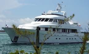 LENGTH: 124 ft. TYPE: Power CLEARING HOUSE: Neptune Group Yachting WEB SITE: www.nicholsonyachts.com