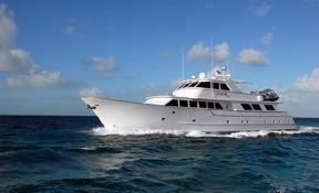 LENGTH: 110 ft. TYPE: Power CLEARING HOUSE: Neptune Group Yachting WEB SITE: www.kaleencharters.com
