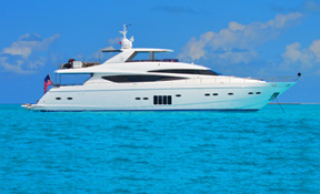 LENGTH: 95 ft. TYPE: Power CLEARING HOUSE: Worth Avenue Yachts WEB SITE: www.mylivernano.com