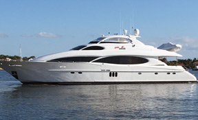 LENGTH: 106 ft. TYPE: Power CLEARING HOUSE: Churchill Yacht Partners WEB SITE: www.churchillyachts.com