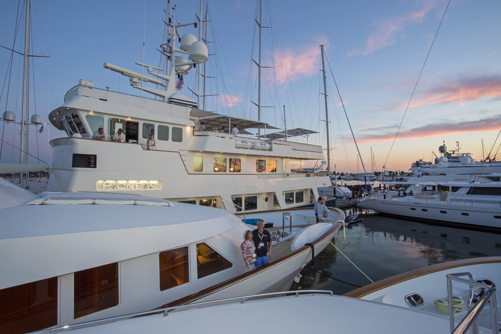 Newport Shipyard hosted the 35th Newport Charter Yacht Show, which was presented by Helly Hansen, over June 21-24. (photo credit: NCYS/Billy Black)