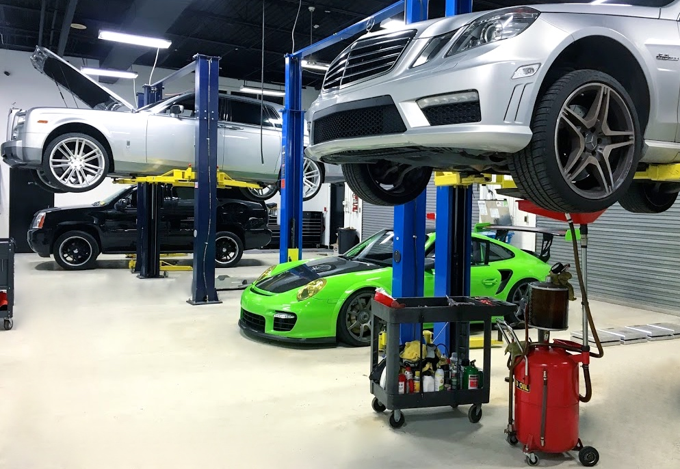 We service Porsche, Mercedes, Rolls Royce, and all other makes and models!
