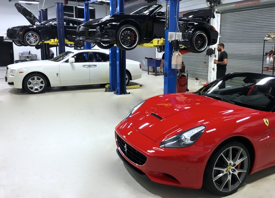 Ferrari and Rolls Royce are two of our many specialties at European Motorwerks.