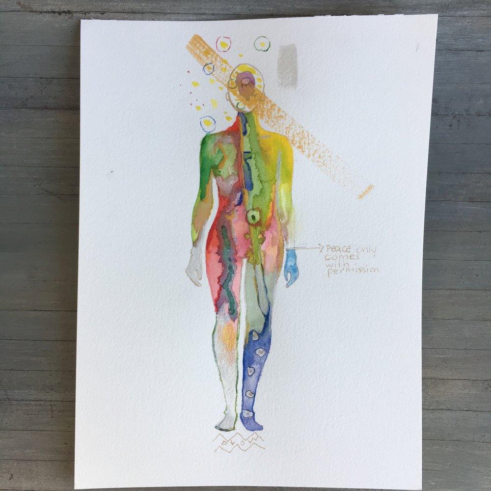 Chakragraph: Psychic Art by Jamie Homeister