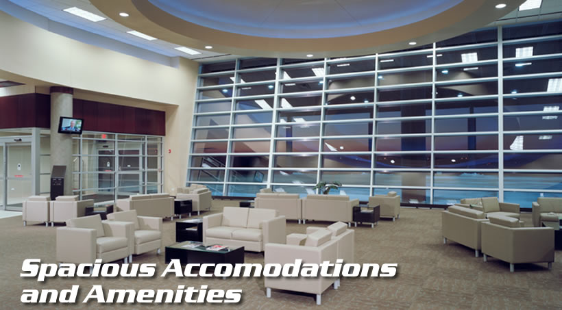 Spacious Accommodations and Amenities