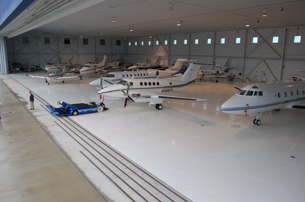 Corporate Hangar and Office Space Available