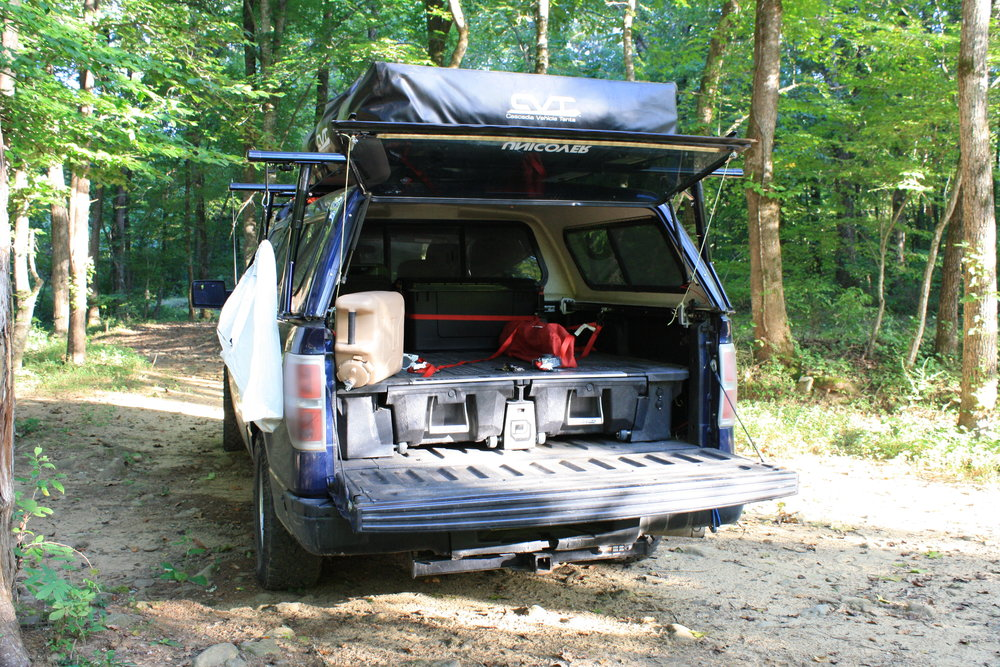 Overland Lab Gear Reviews - Decked Drawer System: A Truck ...