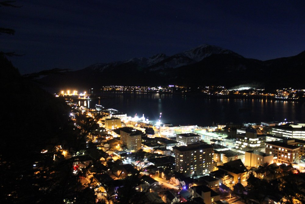 Juneau nightlife.  Photo credit: Ashley Harshell