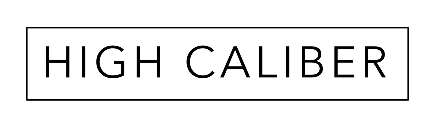 High Caliber - Project Management for Properties