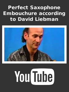 Saxophone Embourchure