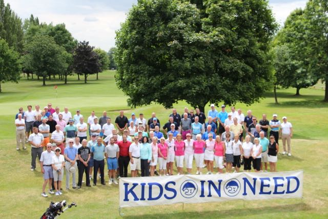 Charity Golf Day at Bishops Stortford Raises £6,825 00 — Kids in Need