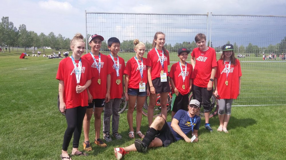 Alberta Summer Games in Leduc, Alberta.  Great group of kids!