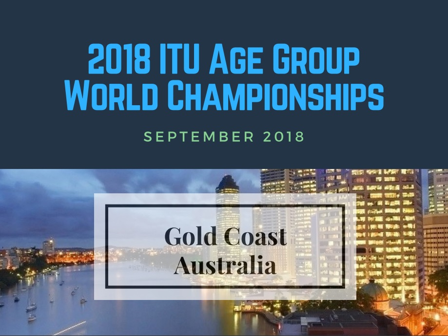 Gold Coast Australia 2018 ITU Age Group World Championships Triathlon