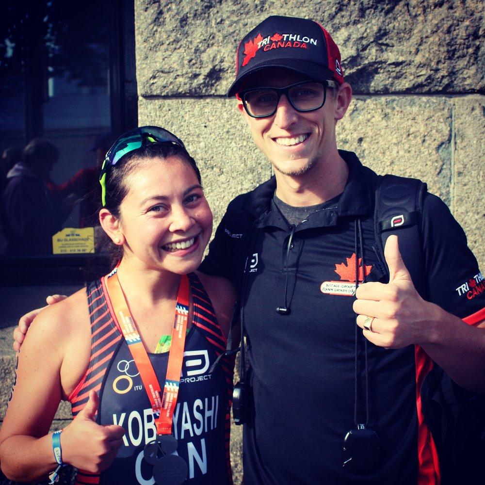 Yume Kobayashi and Coach Jensen in Rotterdam