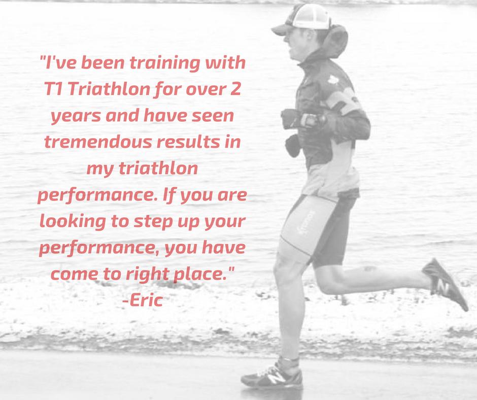 Eric Dokter Testimonial Triathlete Coaching