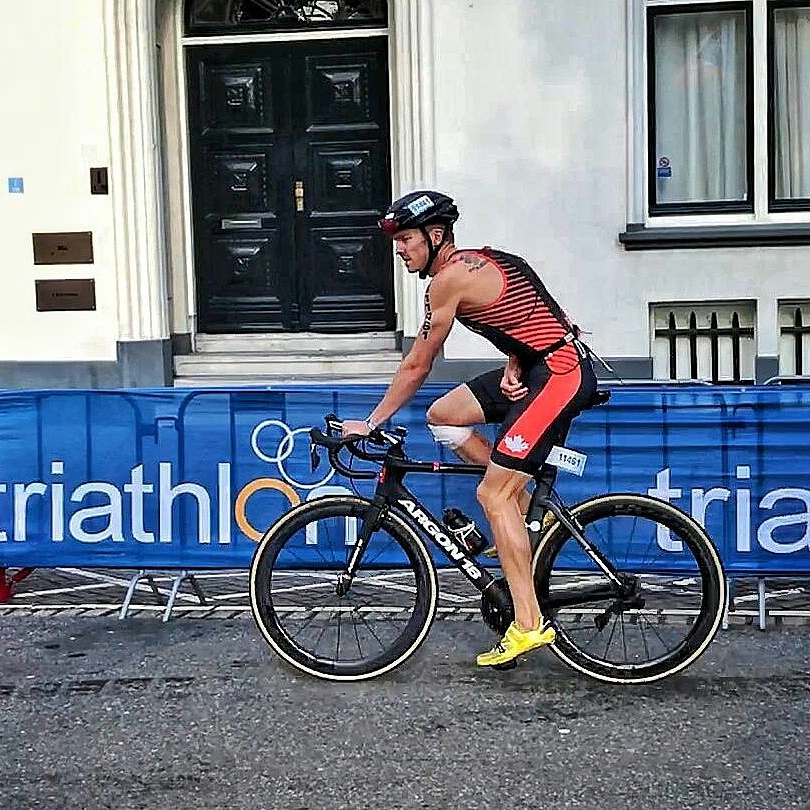 Eric Dokter Triathlon Age Group World Championships Netherlands
