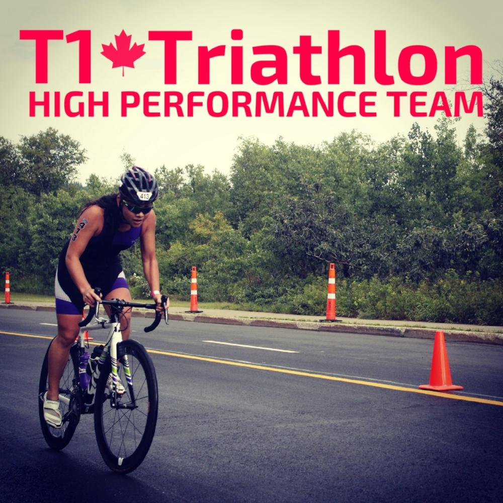 T1 Triathlon High Performance Cyclist