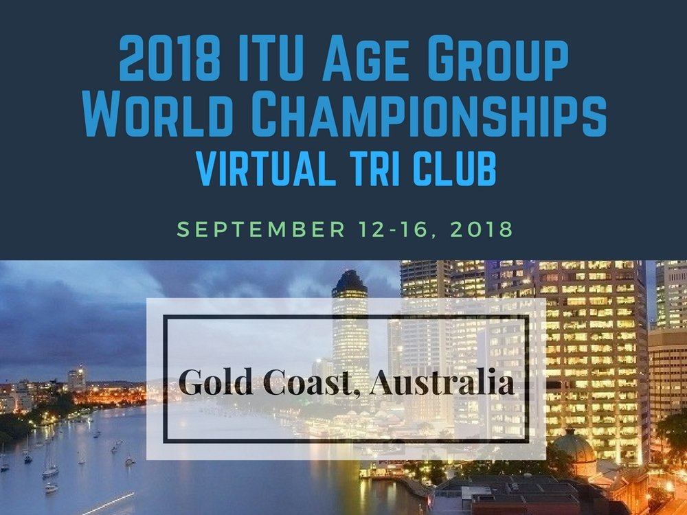 2018 Age Group World Championships Triathlon in Gold Coast Australia September 12-16, 2018
