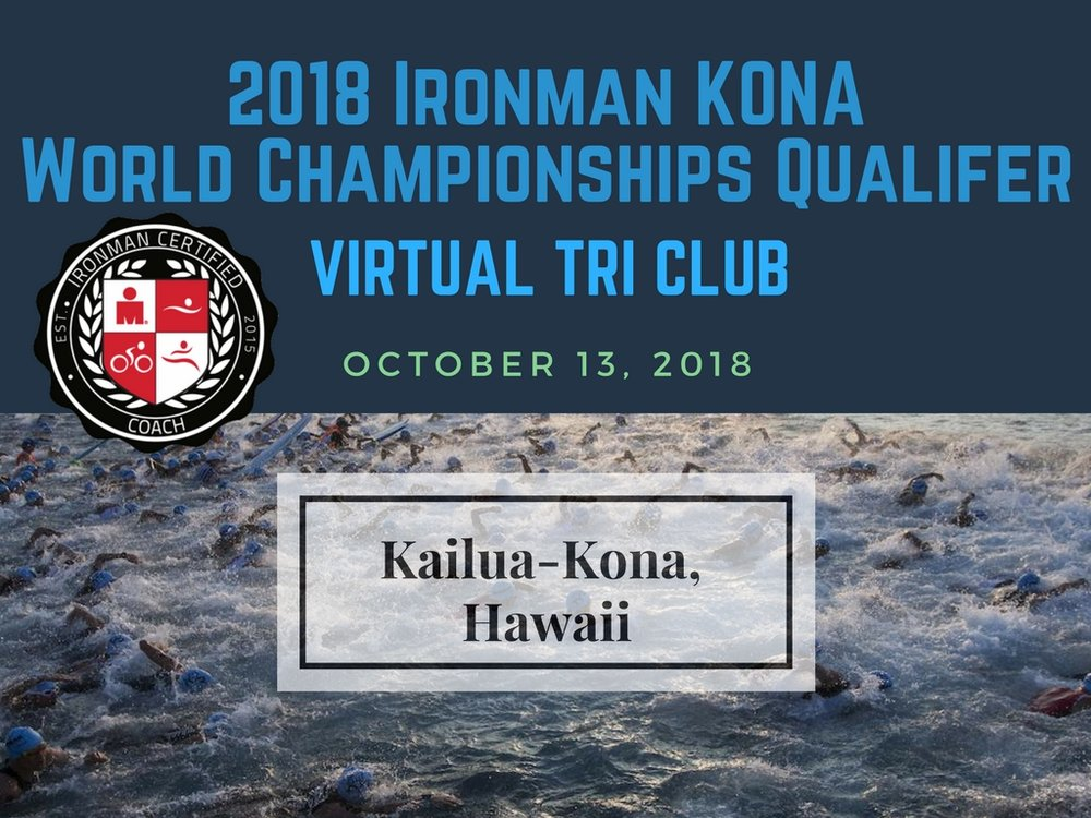 Ironman 2018 World Championships in Kona Qualify Virtual Coaching Club