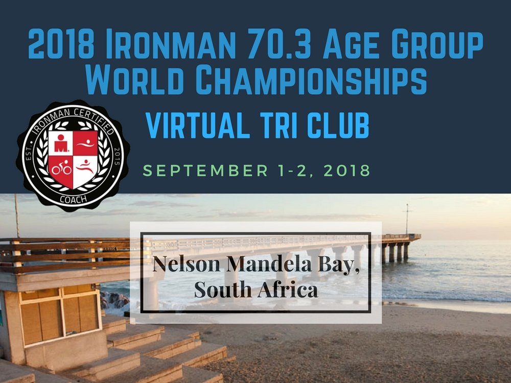 2018 Age Group World Championships Ironman 70.3 Virtual Triathlon Club Online