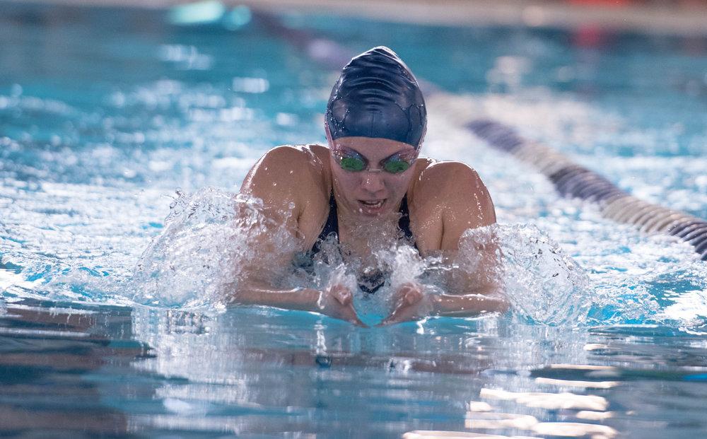 Triathlete Swimmer Catherine Alcorn