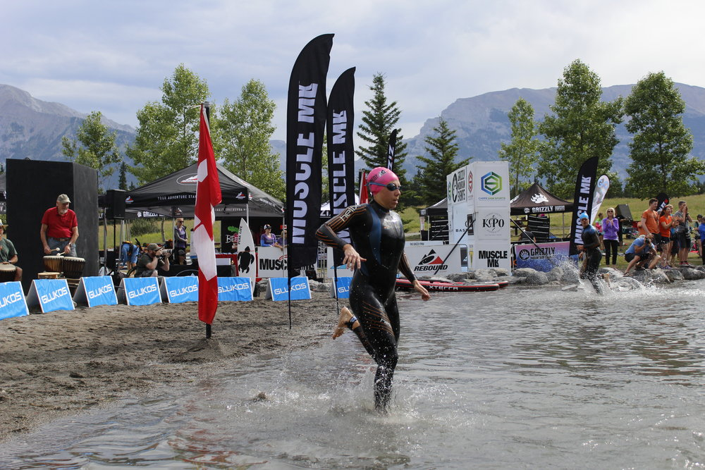 Catherine Canmore Open Water Swim