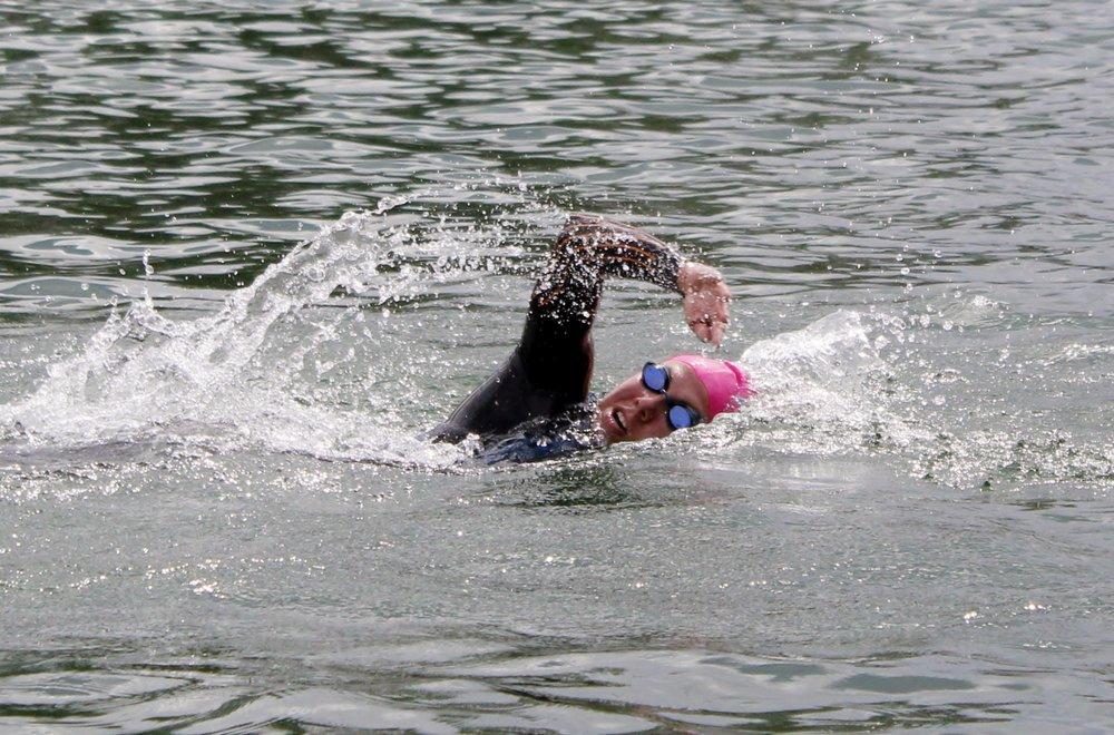 Catherine Alcorn Swimmer